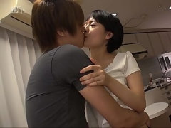 Hot sex with amateur Japanese MILF