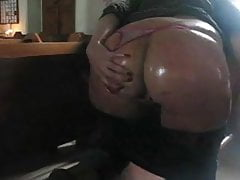 Busty PAWG anal games in church