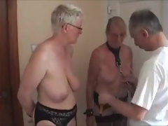 Fun with my mature Dutch slaves