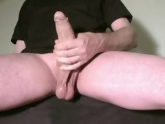 LONG OILED EDGING PRECUM CUMSHOT 265