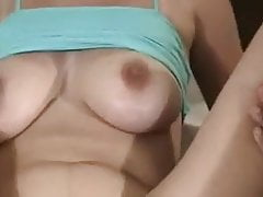 Amateur busty housewife BBC gangbang